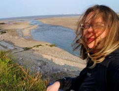Nad rzeczką wpadającą do morza - Ogmore by Sea